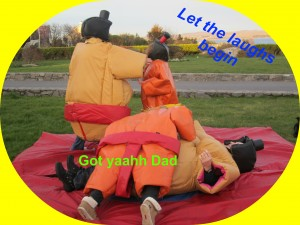 Adult and Children's Sumo Suits
