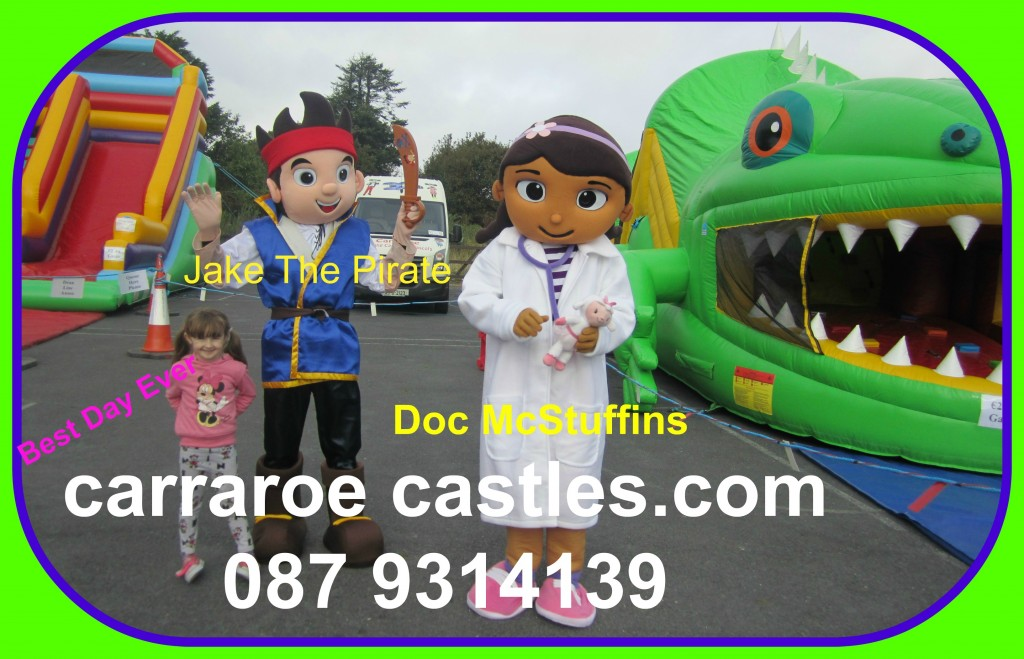 Bouncy castles for hire in Galway and Connemara