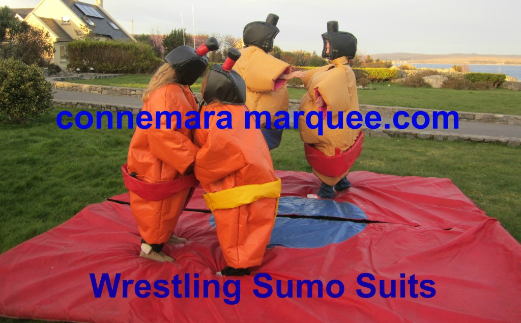 Wrestling Sumo Suits Hire in Galway and Connemara