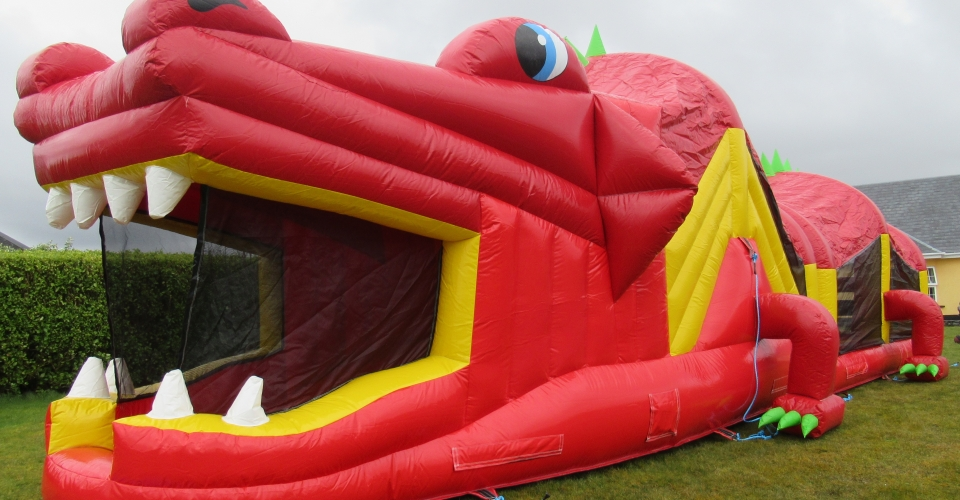 RED DRAGON BOUNCY CASTLE