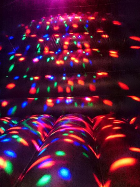 Disco House Bouncy Castle for hire galway city and connemara disco dome