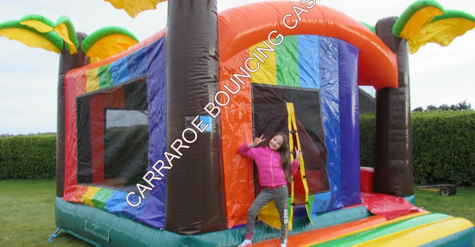 TROPICAL BOUNCING CASTLE