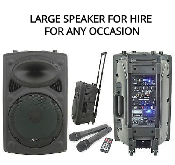 PA DISCO SPEAKER FOR HIRE IN GALWAY AND CONNEMARA