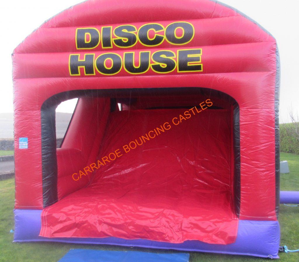 DISCO HOUSE BOUNCING CASTLE