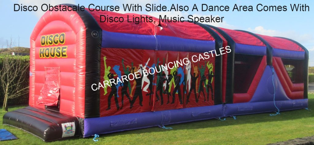 DISCO HOUSE BOUNCING CASTLE