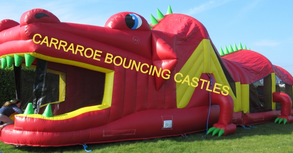 RED DRAGON BOUNCING CASTLE