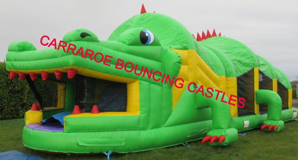 GREEN DRAGON BOUNCING CASTLE