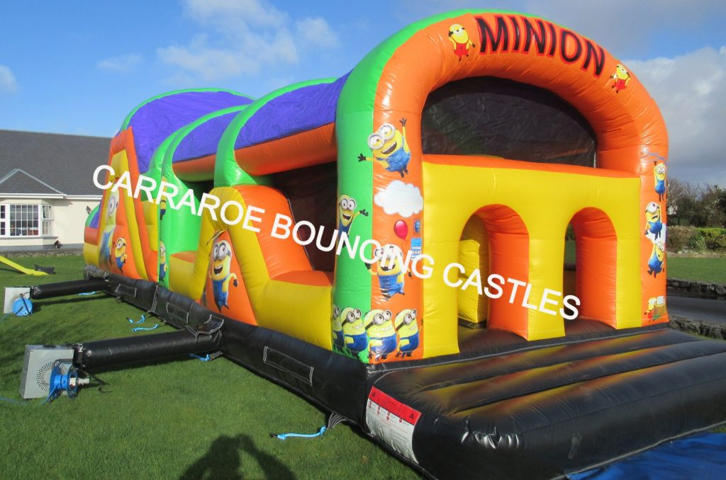 MINION OBSTACALE COURSE BOUNCY CASTLE