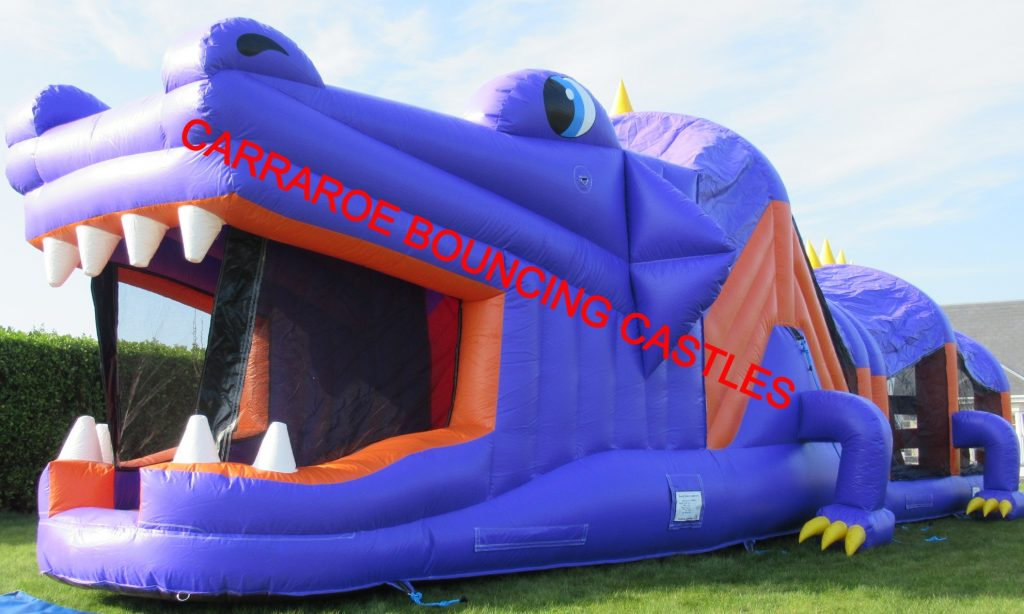 PURPLE DRAGON BOUNCING CASTLE